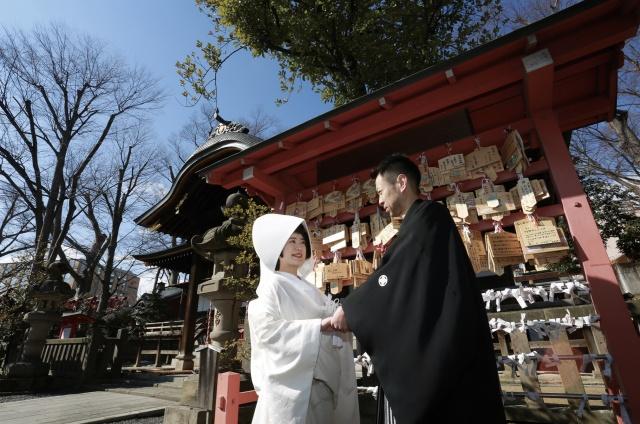 スズヤの神社挙式